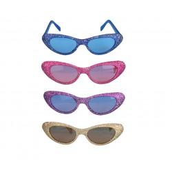 Gafas de pasta Purpurina.Varios colores.