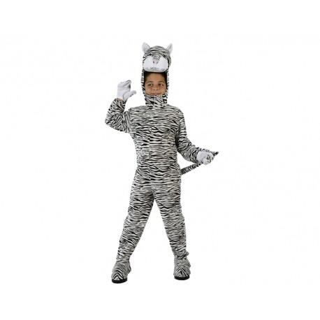 Disfraz de Tigre Blanco .Talla 5-6