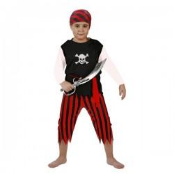 Disfraz de  pirata.Talla 10-12