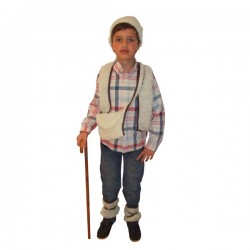 Disfraz de Pastorcillo.Talla10-12