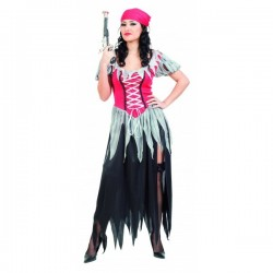 Disfraz de Pirata. Talla Única.