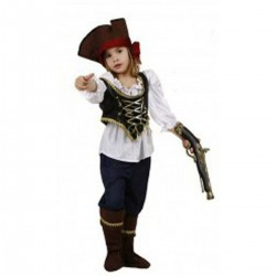 Pirata Chica. Talla 7-9