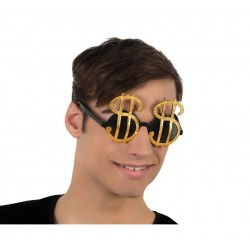Gafas con el simbolo Dolar.