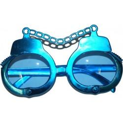 Gafas de esposas.Azul