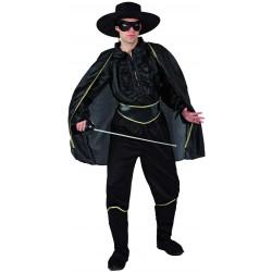 Disfraz del Zorro.Talla M-L