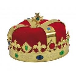 Corona de Rey o Reina con Tela.