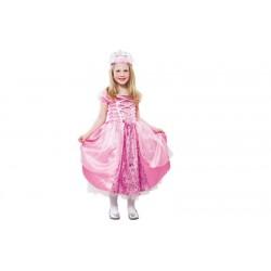 Disfraz de Princesa Rosa. Talla 7-9