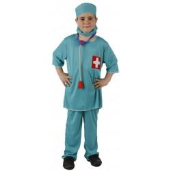 Disfraz Médico,docto.Talla-10-12