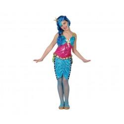 Disfraz de Sirena. Talla 5-6