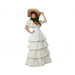 Disfraz de Dama Sureña.Talla XS