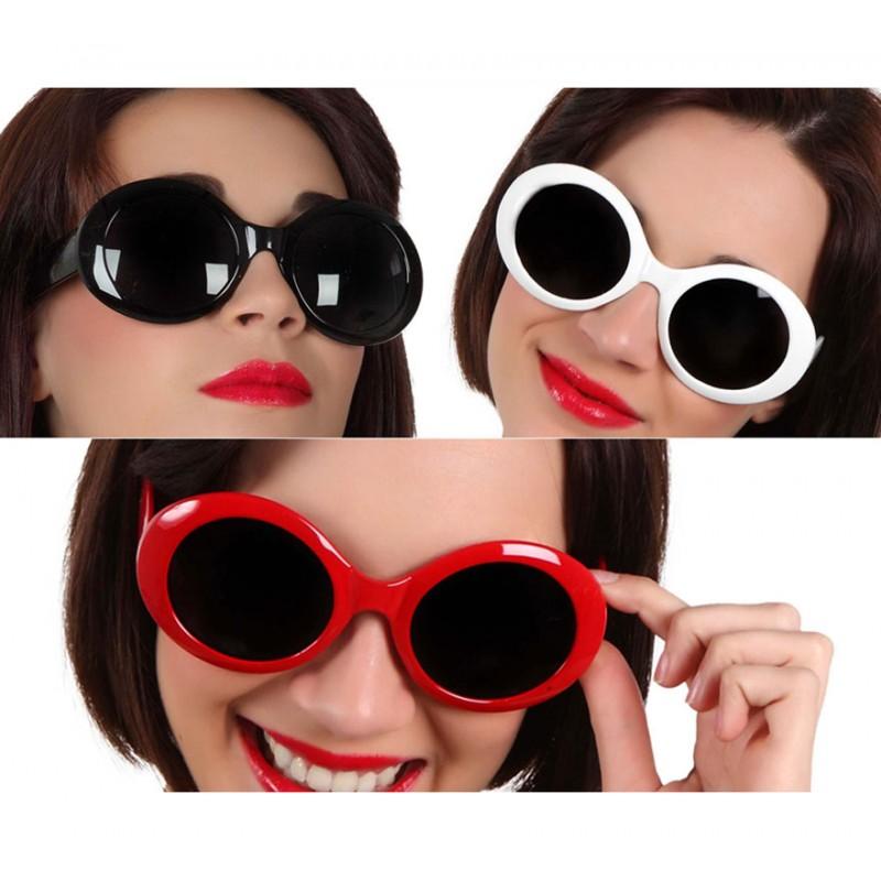 b91c8f0a6f Gafas Hippie -Años 60..en tres colores blanca -roja o negra