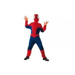Disfraz de Spiderman. Talla 7-9