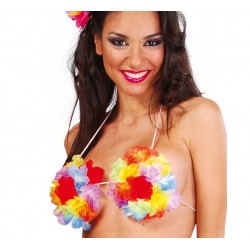 Sujetador de Flores Hawaiana.