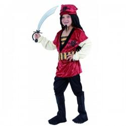 Disfraz de Pirata.Corsario. Talla4-6