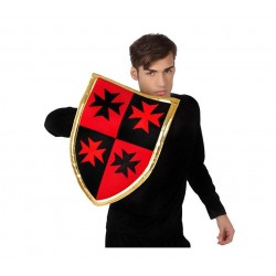 Escudo de Guerrero Medieval de tela