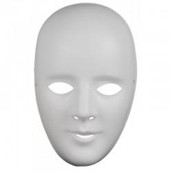 Máscara  Blanca Para Decorar.