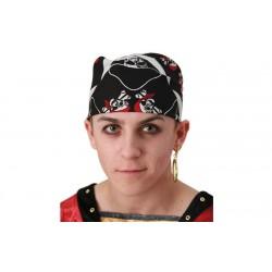 Pañuelo para la cabeza pirata