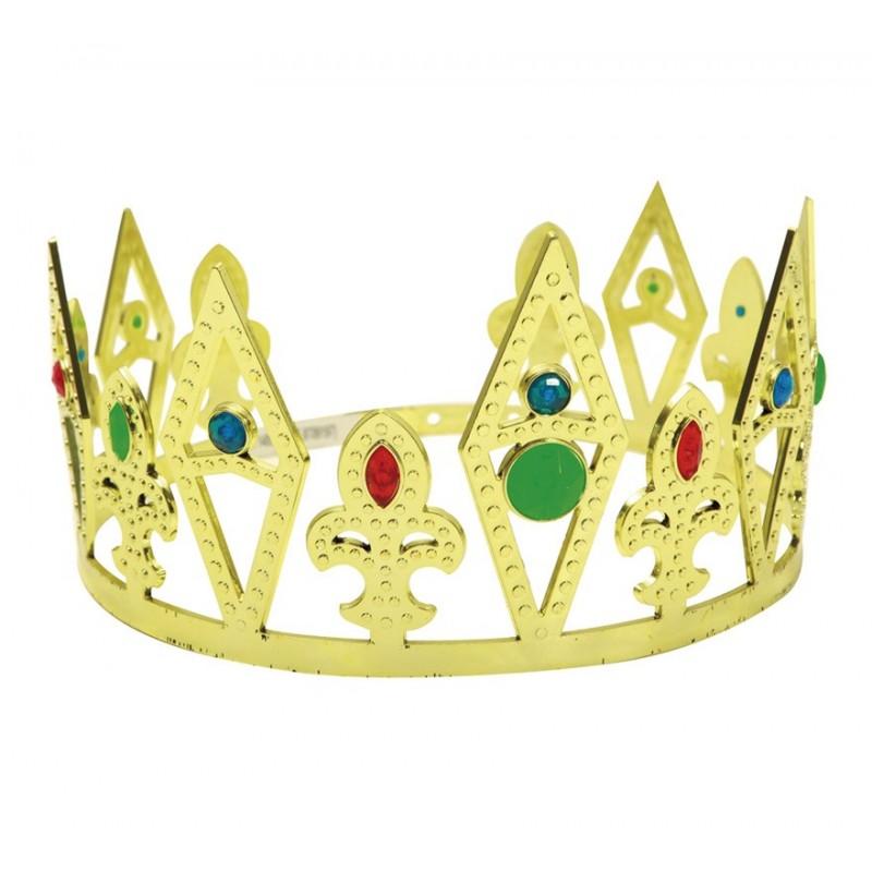 corona de rey dorada algorta