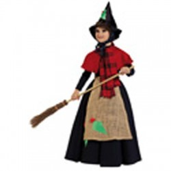 Disfraz Bruja  Nuri de Alta Calidad t-8