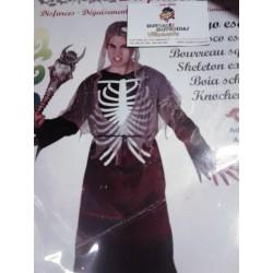 Disfraz de Verdugo Esqueletico.Talla M-L