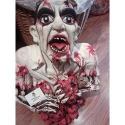 Busto Hombre Tripas fuera,Zombie Gomoso.