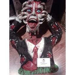 Busto Cabeza Arrancada,Zombie Gomoso