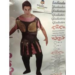 Disfraz de Gladiador Romano .Talla XXL