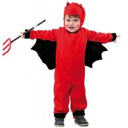 Disfraz de Diablo Rojo.Talla 7-9