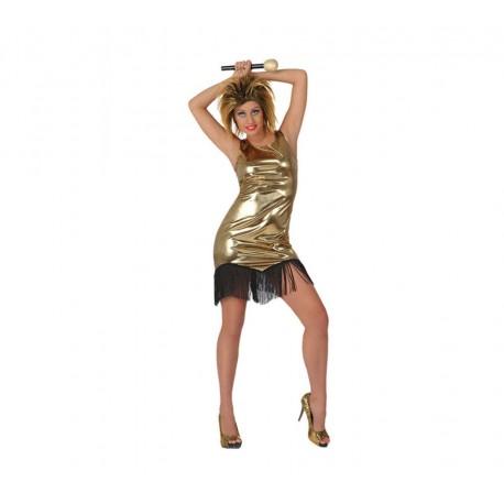 Vestidos dorados baratos