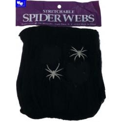 Telaraña Negra con dos arañitas.20 GRS.