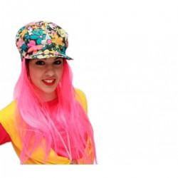 Sombrero o Gorro de Hippie con pelo