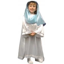 Disfraz Virgen Maria. Navidad. Talla 10-12