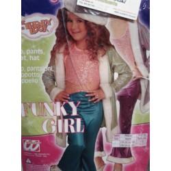 Disfraz de Funky Girl Pop.Talla 4-5 años