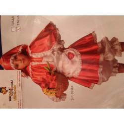 Disfraz de Caperucita.Talla 10años