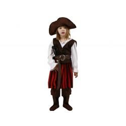 Disfraz de Pirata .Talla 10-12