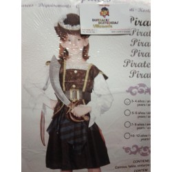 Disfraz de Pirata.Talla 4-6