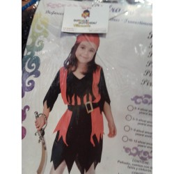 Disfraz de Pirata,Talla 5-6