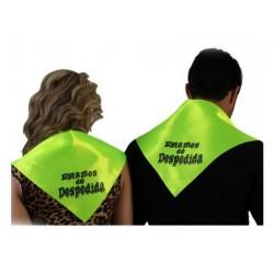 """Pañuelo """"Estamos de despedida"""", Verde"""