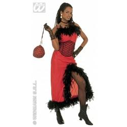 Disfraz Saloon Madame o Cabaret.Talla M