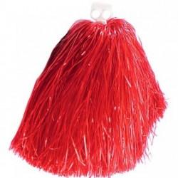 Pompónes de Animadora,Rojo