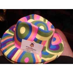 Sombrero pvc,colorines