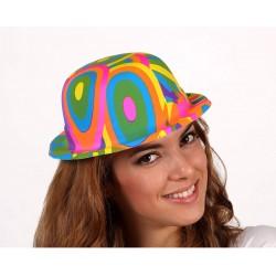 Sombrero pvc,Bombin colorines