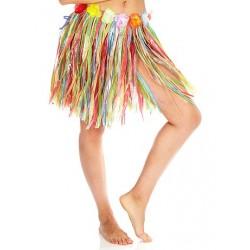 Falda Hawaiana,Multicolor.infantil