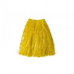 Falda Hawaiana c/goma,Amarilla