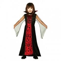 Disfraz de Vampiresa Gotica,Talla 3-4 años