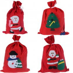 Bolsas -Saco de Fieltro,Navidad-30x40cm