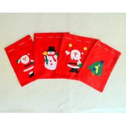 Bolsas -Saco de Fieltro,Navidad-