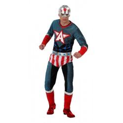Disfraz Capitán América,Super Héroe. Talla M-L
