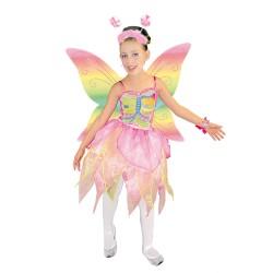 Disfraz Princesa o Hada Arco Iris.talla 6 años