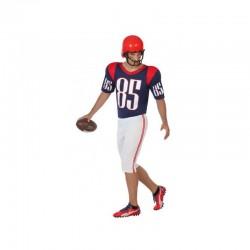 Disfraz Jugador de Rugby o Fútbol Americano.Talla XS-S